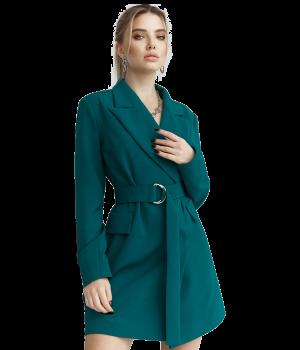 Emerald Jacket Dress