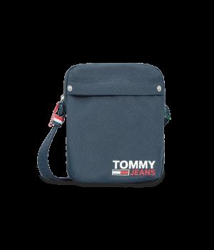 Men's navy blue shoulder bag